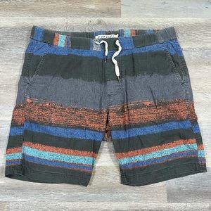 Exekiel Mens Drawstring Shorts Size 36 RN# 112306